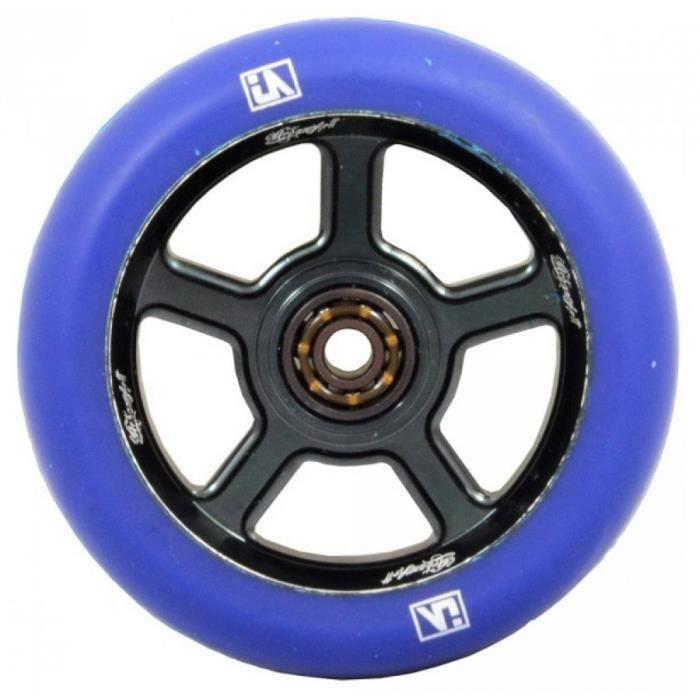 Urbanartt roue s5 + rlts noir bleu-110mm