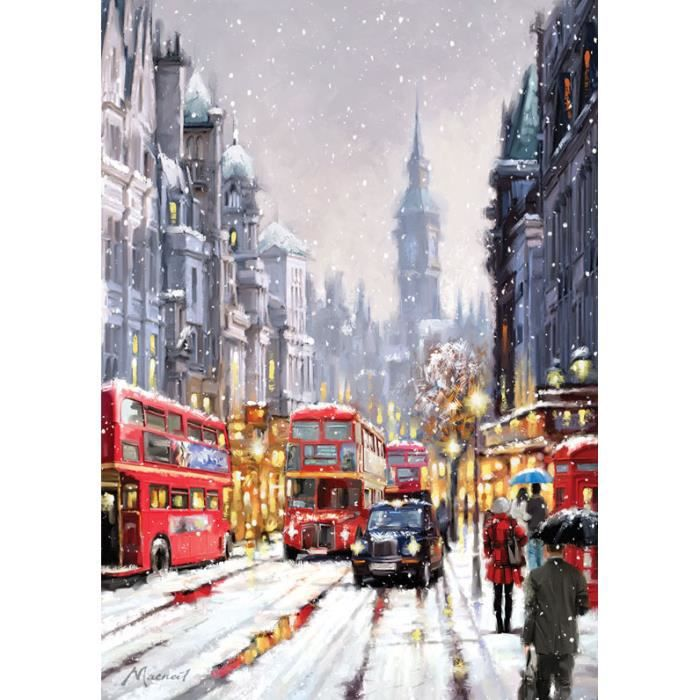 PUZZLE Puzzle 1500 pièces Whitehall in Snow