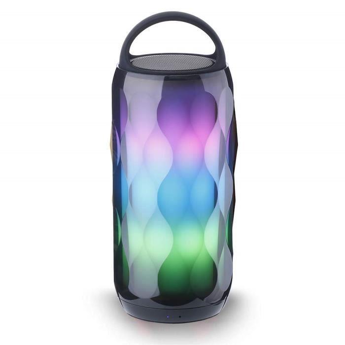 ENCEINTE NOMADE Haut Parleur Bluetooth Enceinte Lumineuse Portable