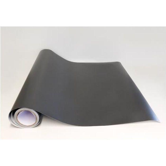 Adzif.biz Le sticker de decoration Rouleau adh/ésif Papier Peint Autocollant Noir Mat 1 m x 61,5 cm