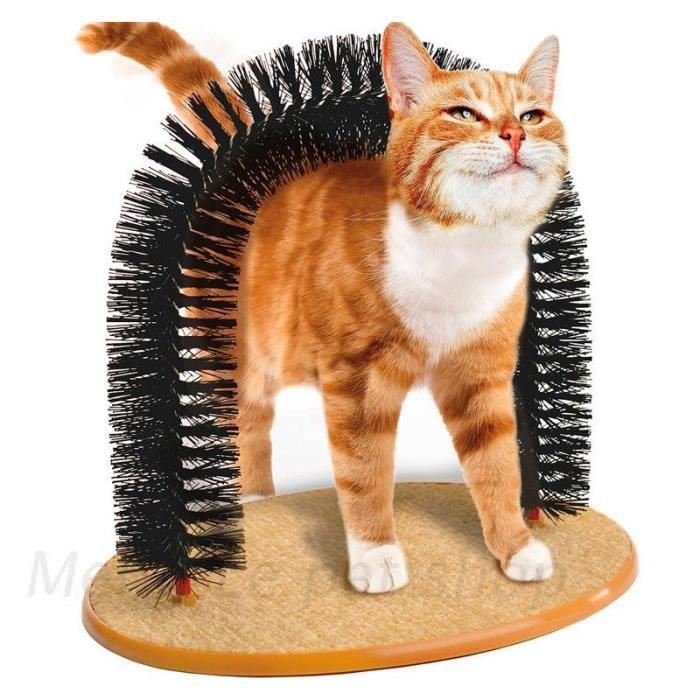 e pet raflure de chat d mangeaison jouets brosse poils de chat accessoires pour animaux. Black Bedroom Furniture Sets. Home Design Ideas