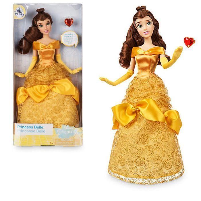 Disney Poupée Aurora//Belle au bois dormant avec Bague Classique poupée NEUF