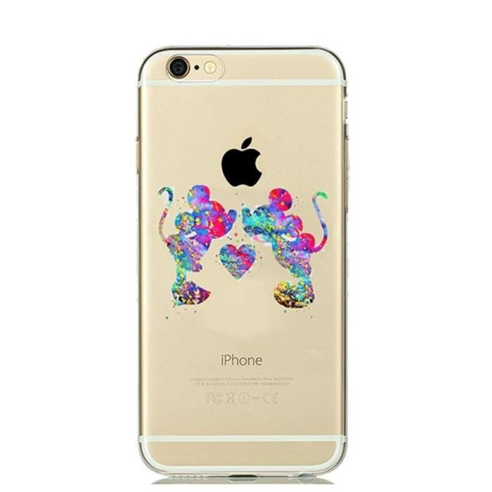 coque iphone 6 en silicone 3d