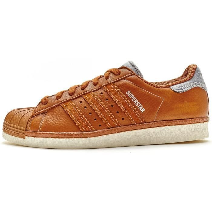 a53e227ac430 Adidas Originals Superstar 80s Varsity Jacket Baskets en cuir dans ...