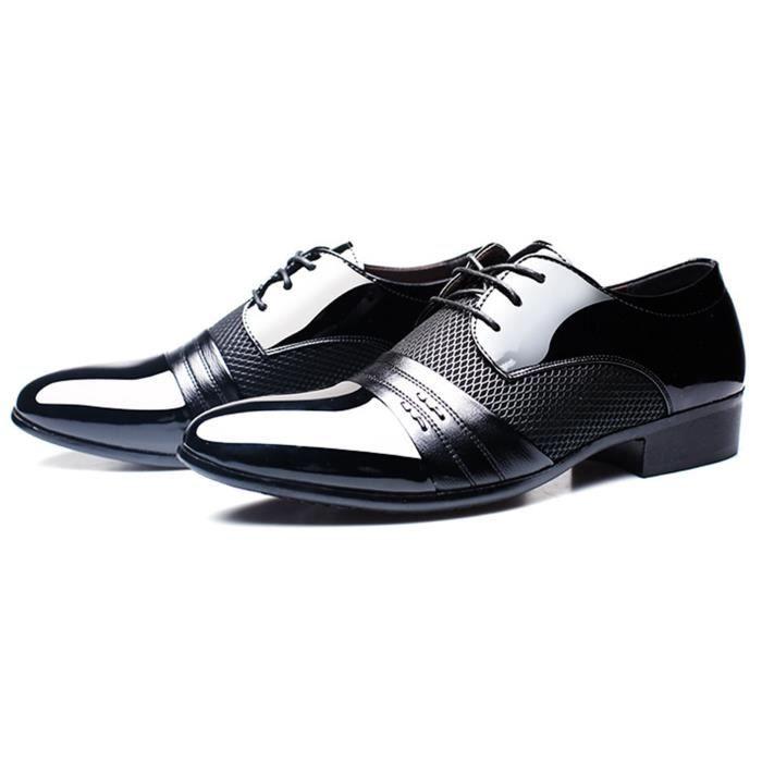 DADAWEN Homme Automne Classique Commercial Leather Chaussure