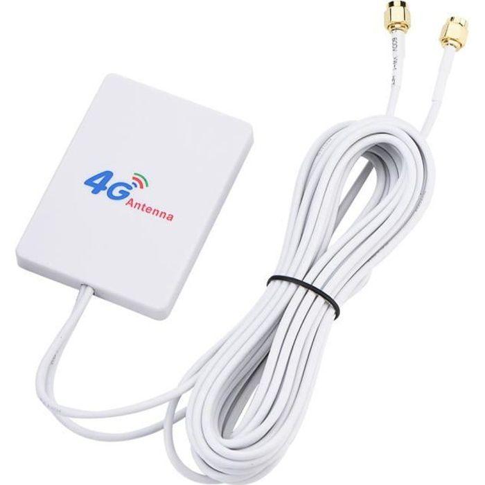Antenne Amplificateur De Signal à Haut Gain 4g 3g Lte 28dbi Pour Routeur Mobile Pour Huawei E398 Sma Mâle Gl Cdiscount Informatique