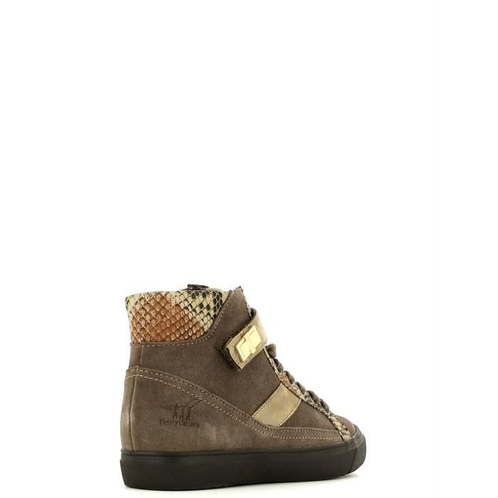 Henry cotton's Sneakers Femmes Taupe qONURdQ