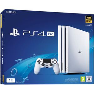 CONSOLE PS4 Console PS4 Pro 1To Blanche/White Glacier - PlaySt