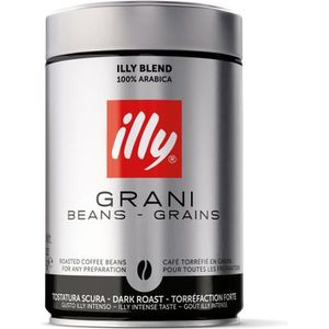 CAFÉ ILLY Café 100 % Arabica - Grains fort - 250 g