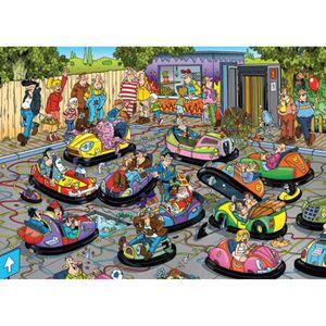 PUZZLE Puzzle 150 pièces Jan Van Haasteren - Les Auto-Tam