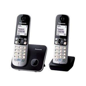 Téléphone fixe Téléphone DECT Duo KXTG6812GB Panasonic