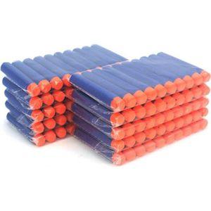 RECHARGE PISTOLET BILLE 200pcs Recharges/Balle/fléchettes pour Nerf N-Stri