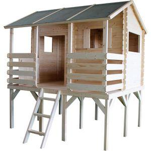 MAISONNETTE EXTÉRIEURE Cabane en bois pour enfant  MANON