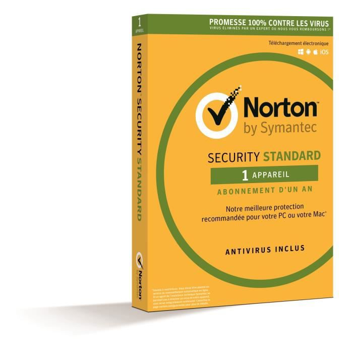 Norton Security 2018 Standard 1 App