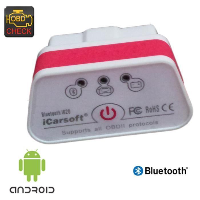 ICARSOFT I620 OBD 2 DIAGNOSTIC CANBUS BLUETOOTH