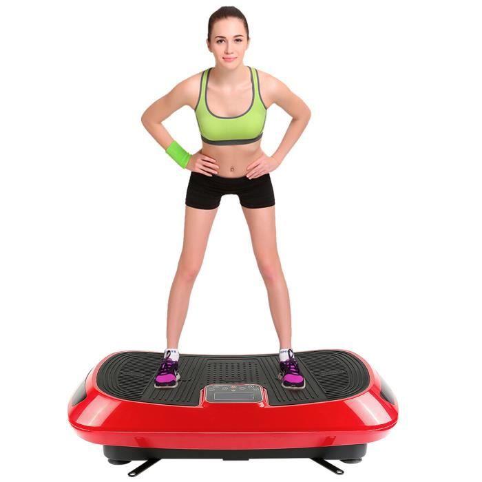 Plateforme Vibrante Oscillante professionnelle Fitness avec technologie de vibration 4D