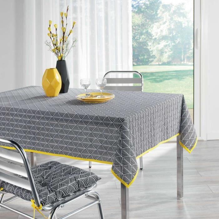 Nappe anti-tache - Rectangle - 140 x 250 cm - Modern style - Dessins géométriques