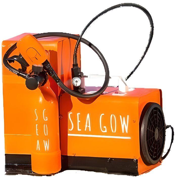 Pack Bouteille de plongée SEAGOW 200 (10 min sous l'eau) + Mini compresseur (220 v) + Harnais