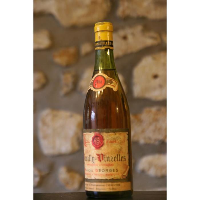 Pouilly Vinzelles,blanc,Domaine Marcel Georges 1966 Simple