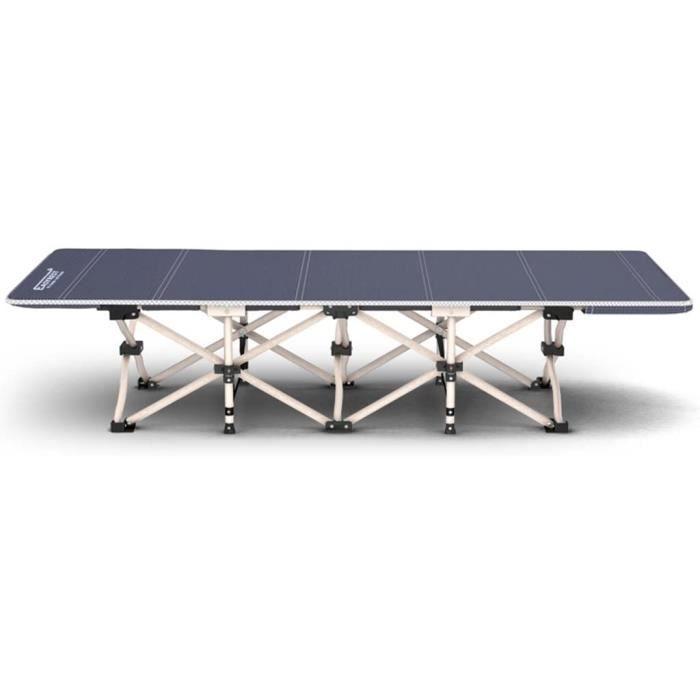 SjYsXm-Sunloungers Lit de Camp Pliable de 10 Pieds de Large Lit de Camp Pliable de 10 Pieds de Luxe Lit de Couchage Confortable de l