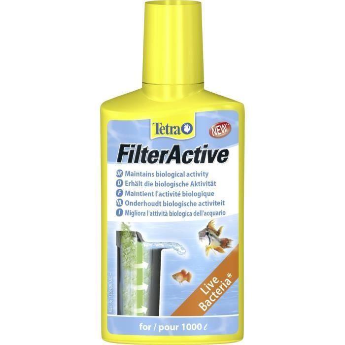 TETRA FilterActive 250ml pour aquarium (Lot de 2)
