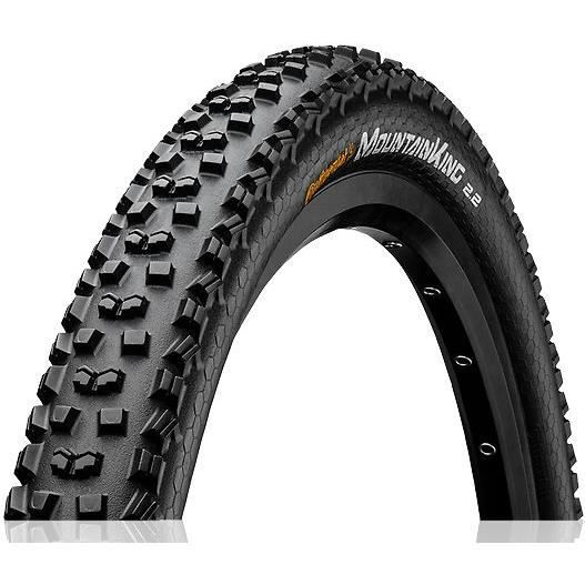 Pneu vélo VTT Continental Mountain King ProTection - 27.5x2.30 (58-584) - Noir - Tubeless Ready