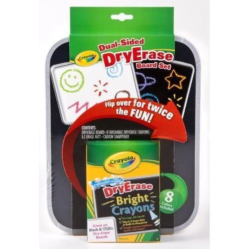 CRAYOLA DRY ERASE - 98-8638.0030 - TABLEAU DOUB…