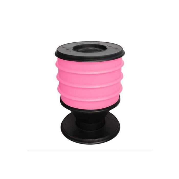 Lombricomposteur ECO-WORMS coloris rose fuschia