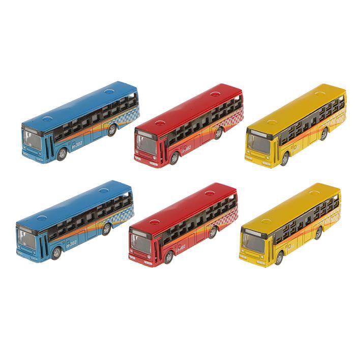 VEHICULE A CONSTRUIRE - ENGIN TERRESTRE A CONSTRUIRE 6 x modèle de bus