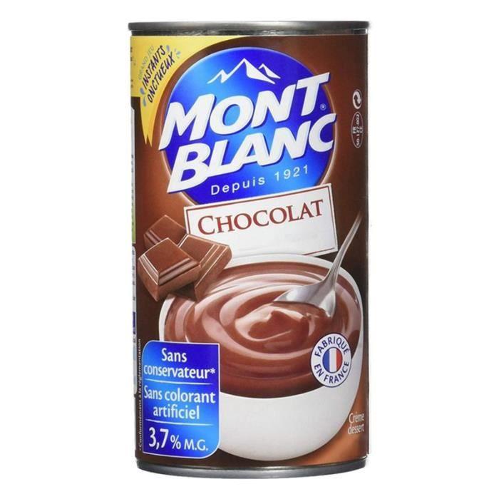 Mont Blanc Crème Dessert Chocolat 4,3Kg (lot de 2)
