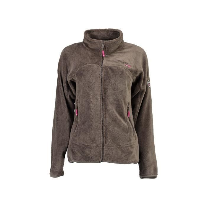 Polaire Fille Geographical Norway Unicorne Taupe