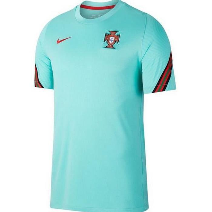 Nouveau Maillot D'Entrainement Officiel Homme Nike Portugal Euro 2020