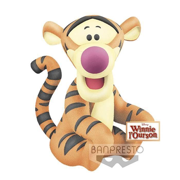 Figurine Disney - Tigger Tigrou Fluffy Puffy 10cm