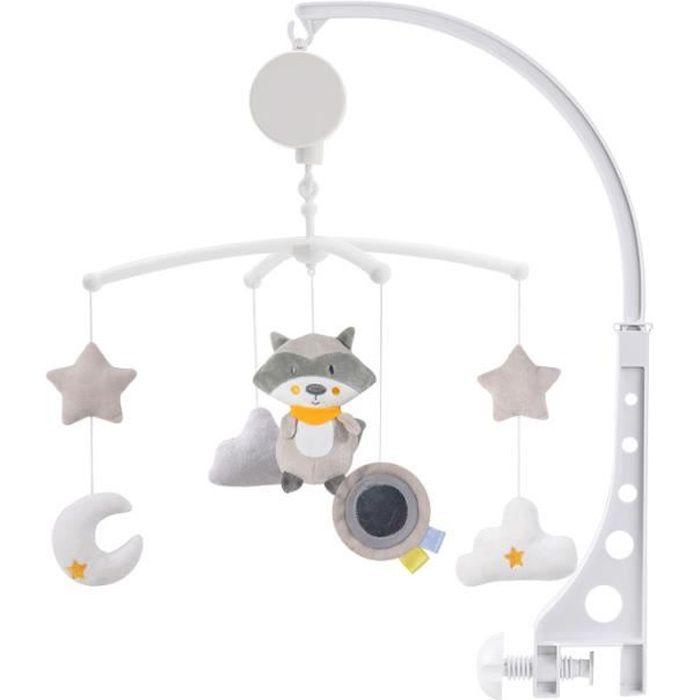 Jouets de confort pour bébé Cloche de lit bébé Hochet 0-1 ans