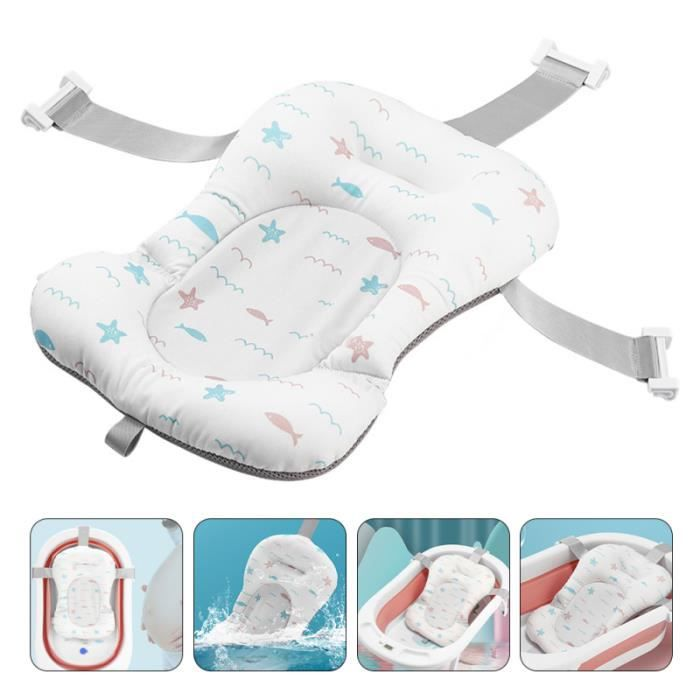 1pc Baby Shower Cushion Newborn Non-Slip Bathtub Mat Safety Bath Support FILET DE BAIN - HAMAC DE BAIN