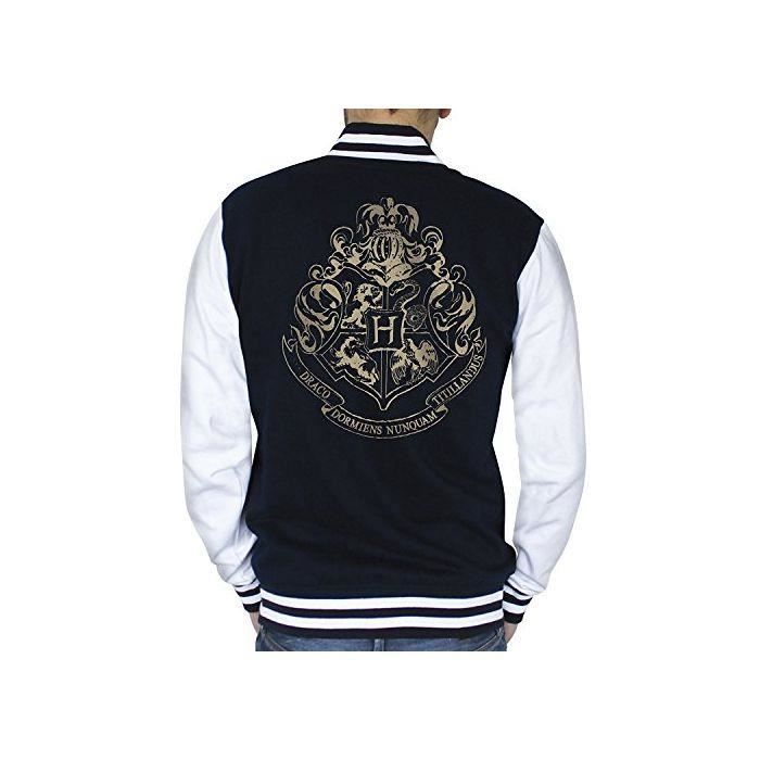 ABYstyle - Harry Potter - Teddy - Poudlard Homme Navy/White (S)