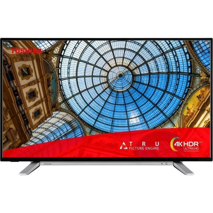 TOSHIBA 43UA2B63DG TV LED UHD 4K - 43- (108 cm) - Android TV - son Onkyo 4xHDMI - 2xUSB