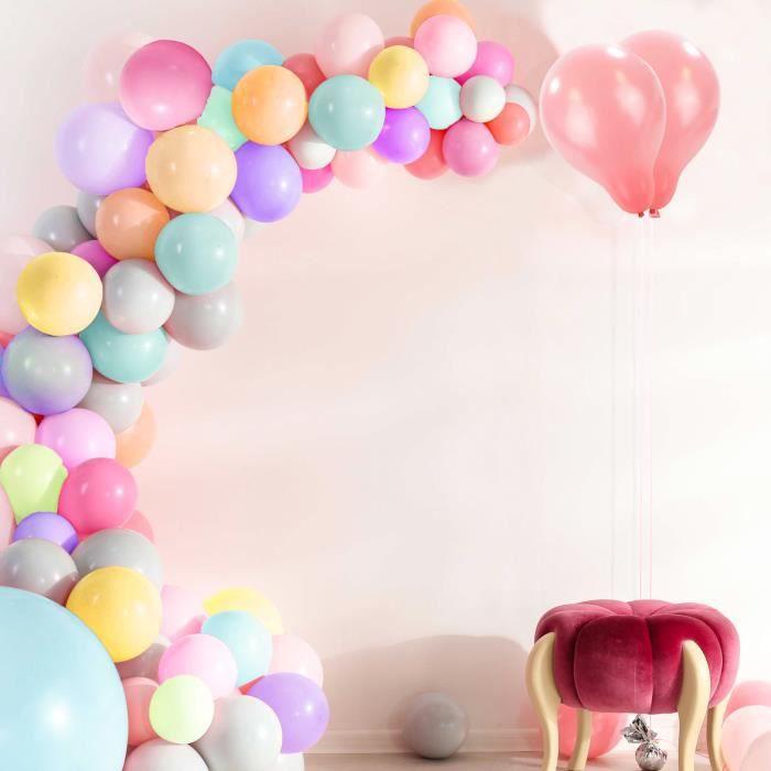 TRIXES 100 X Pastel Ballons -pour Mariages Anniversaires & Baby shower