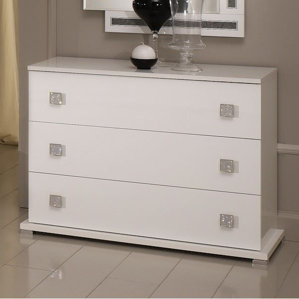 commode laquee blanche maison design. Black Bedroom Furniture Sets. Home Design Ideas
