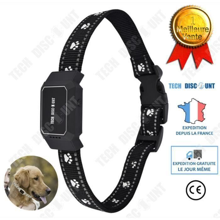 Collier anti fugue chien chat