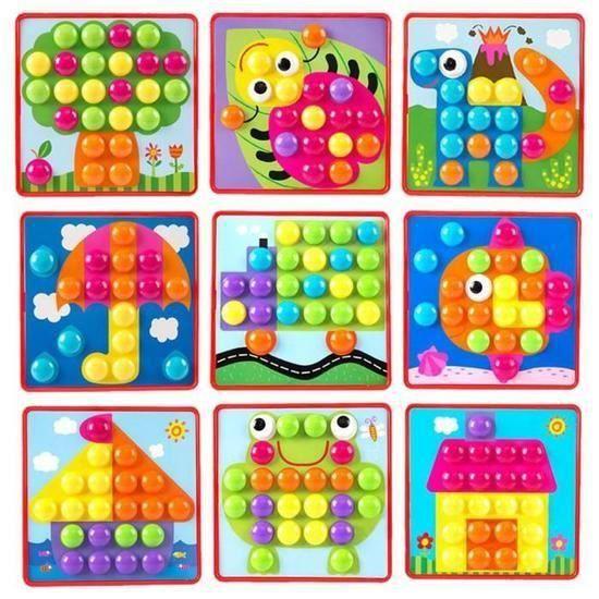 PUZZLE QML Puzzles 3D jouets pour les enfants Creative mo