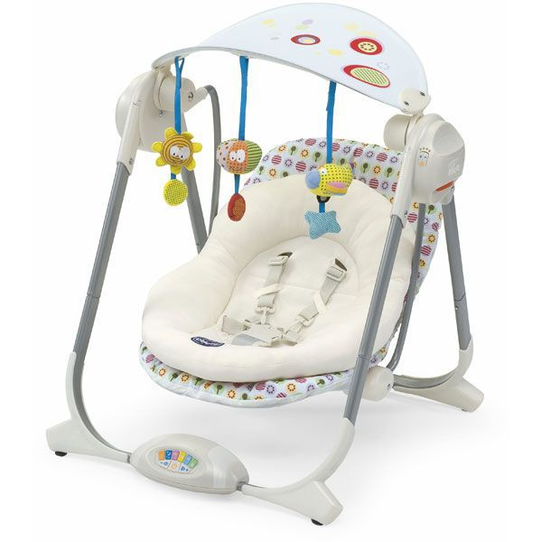 bebe puericulture chicco balancelle polly swing flower power f chi