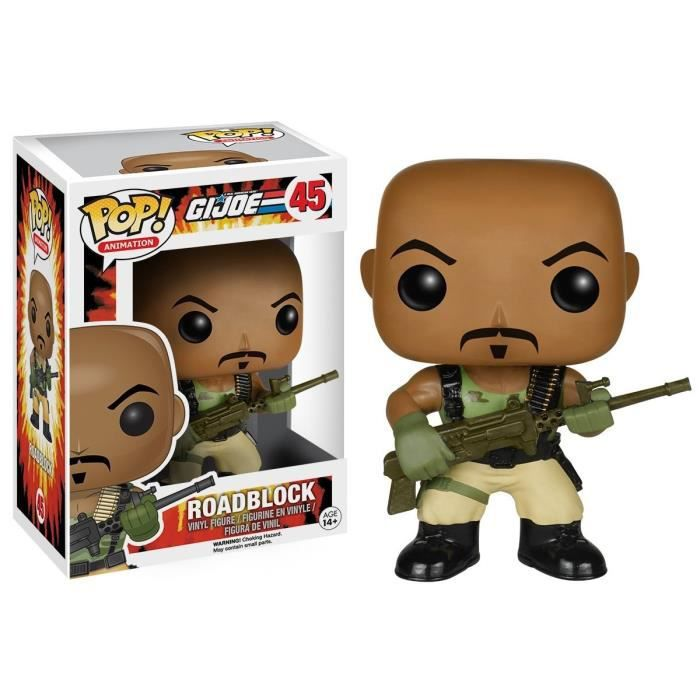 FIGURINE - PERSONNAGE Funko - POP TV: G.I. Joe - Roadblock