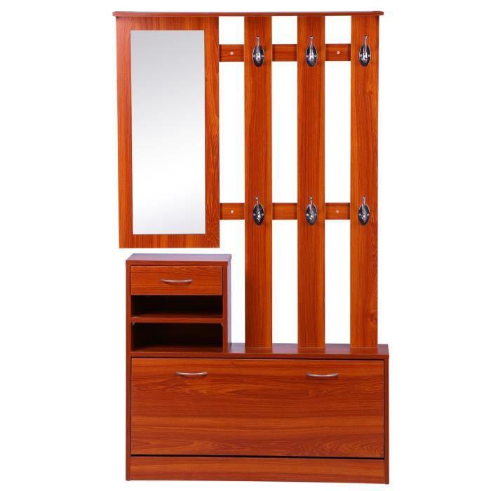 MEUBLE À CHAUSSURES Ensemble de meubles d'entrée design contemporain :