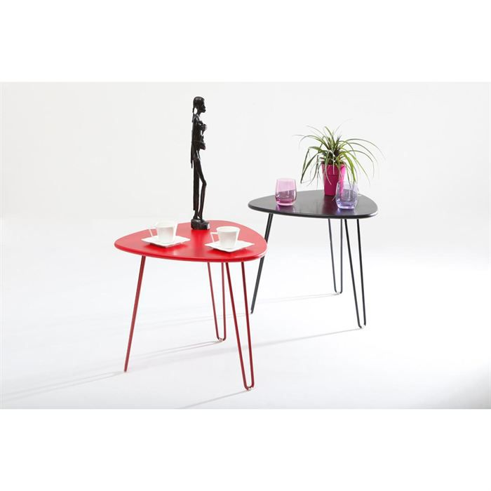 table d 39 appoint design rouge lakea achat vente table de cuisine table d 39 appoint rouge lakea. Black Bedroom Furniture Sets. Home Design Ideas