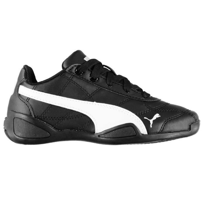 basket puma noir enfant