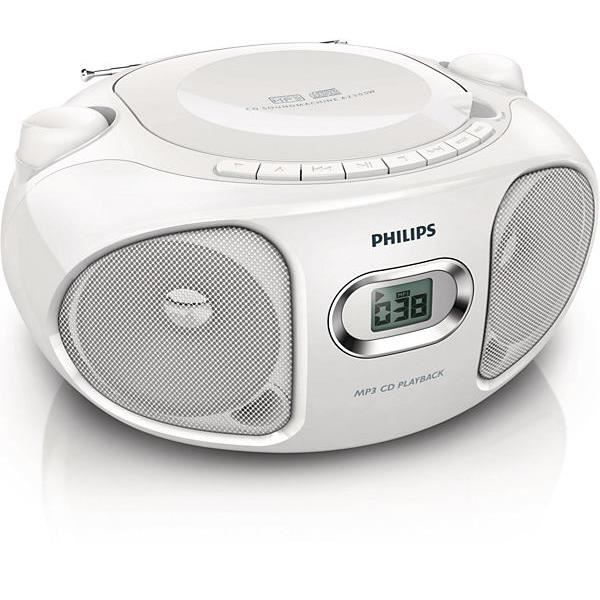poste radio cd compact philips az305w 12 radio cd cassette avis et prix pas cher cdiscount. Black Bedroom Furniture Sets. Home Design Ideas