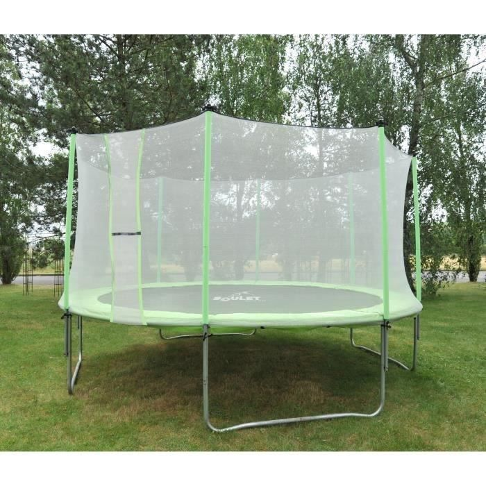 Soulet ensemble trampoline 4 20 m for Destockage soulet