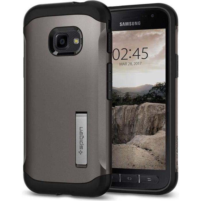 Spigen Coque Samsung Galaxy Xcover 4 [Slim Armor]