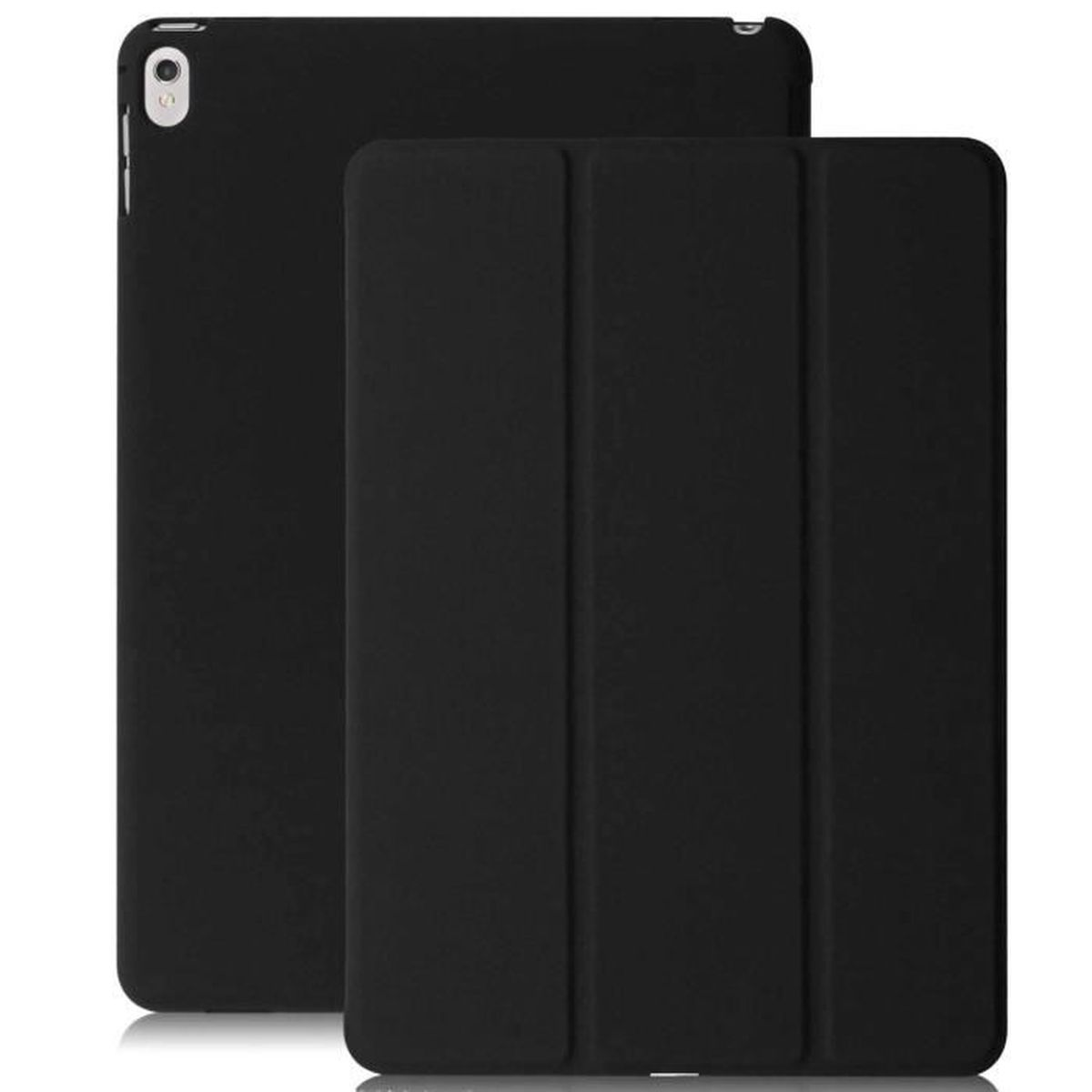 coque ipad pro 10 5 noir khomo etui housse dual tr s leger pour tablet apple prix pas cher. Black Bedroom Furniture Sets. Home Design Ideas